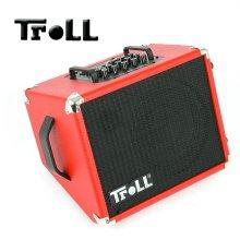 Troll Busker Box / 버스킹용 어쿠스틱기타 앰프 (RED)