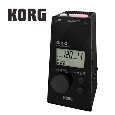 KORG KDM-3 BK 디지털 메트로놈