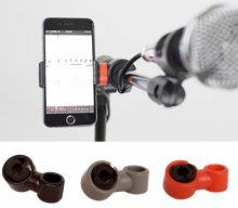 Prefox SP-01 스마트폰 거치대  / 악기, 스탠드 등 다양하게 사용가능 (그레이)