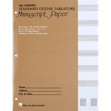 기타 타브악보 오선노트 (00704356)