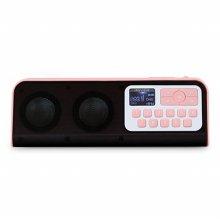 포터블 라디오 스피커 [핑크] [IRS-B404]