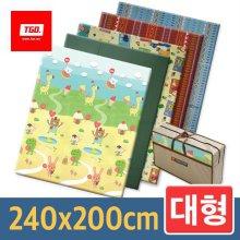 캠핑매트 (대형_컬러) 240x200cm 17_[뉴대형] 티티
