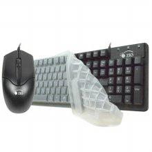 ZIO KM1100 USB 키보드&마우스 세트 (키스킨포함)
