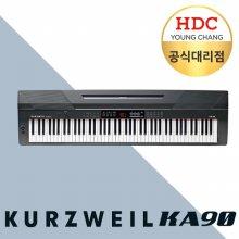 [히든특가] 영창 커즈와일 KA90 해머건반 키보드형 디지털피아노 블랙