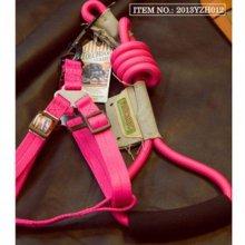 하네스세트 (9mm) 핑크색상 애견가슴줄(1241A3)