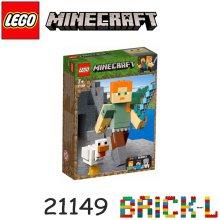 레고 21149 마인크래프트 빅피겨 알렉스와 닭 BR