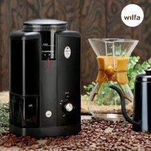 전동 커피 그라인더 CGWS-130B (코니컬버/18단계/DC모터)