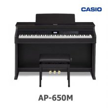 [히든특가] 카시오 디지털피아노 셀비아노 AP-650M (높낮이의자 포함)