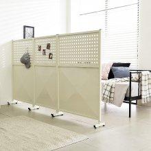 철재 공간 600 칸막이 책상 독서실 업소 사무실파티션 1.블랙