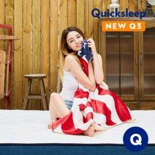 Q3 롤팩 유로탑 매트리스 퀸사이즈