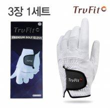 [TRUFIT](3장 1세트) 트루핏 고급합피 남성용 골프장갑 VENTOCL/골프용품