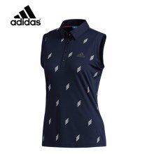 아디다스 SS 아디크로스 로고 패턴 여성 민소매 티셔츠 CV8758