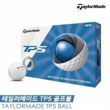 테일러메이드 19 NEW! TP5 골프볼 [5피스/12알][화이트]
