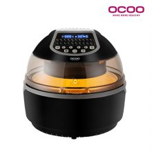 대용량 디지털 에어프라이어 오븐 10L OCS-AF880 [ 18가지 자동요리기능 / 360도 회전로스팅 / 자동 열 차단기능 ]