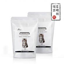 천연탈취 고양이모래 500g