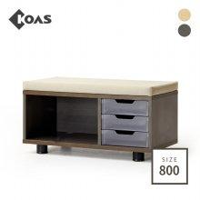 좌식 3단 서랍 OSR3002
