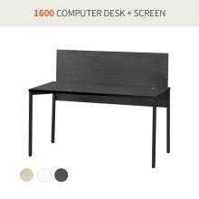[코아스]1600 컴퓨터데스크+스크린 OSD1603SN