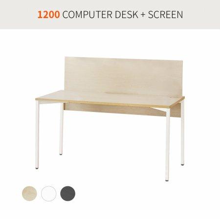 [코아스]1200 컴퓨터데스크+스크린 OSD1203SN