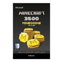 마인크래프트 마인코인즈 3500 [ XBOX ONE 및 Windows10 ] Xbox Digital Code