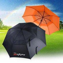미스테리 이중방풍 골프 우산
