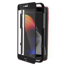 3D 풀커버 강화유리 액정보호필름 - 아이폰 7+/8+(블랙)