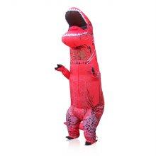(당일발송)미우새 공룡옷 슈트(레드) 할로윈 분장