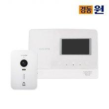 셀프시공 비디오폰(인터폰) NHA-0475(화이트)+초인종포함