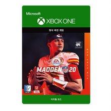 메이든 NFL 20 : 얼티밋 슈퍼스타 에디션 [XBOX ONE] Xbox Digital Code
