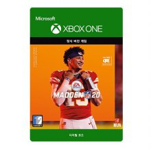 메이든 NFL 20 : 스탠다드 에디션 [XBOX ONE] Xbox Digital Code
