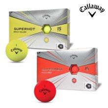 2020 캘러웨이 슈퍼핫 볼드 골프공 15알 레드 옐로우 골프볼 골프용품 필드용품 Callaway SUPERHOT BOLD