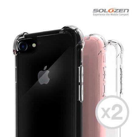 [1+1] 솔로젠 에어쿠션 범퍼 투명케이스 갤럭시노트8(N950)