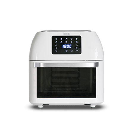 스텐 대용량 에어프라이어 오븐 16L 로티세리 (화이트)