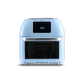 스텐 대용량 에어프라이어 오븐 16L 로티세리 (스카이블루)