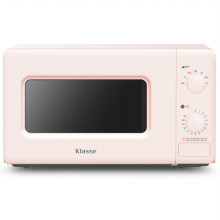 전자레인지 WKRM204DKK [20L/핑크/기계식/7단계 출력 조절]