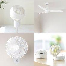 *앱연동 + BLDC* 초절전 선풍기 LZEF-DC130 화이트