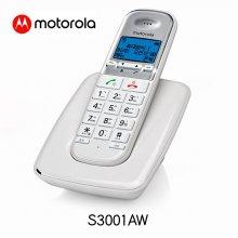 디지털 한글지원 무선전화기 S3001A 화이트