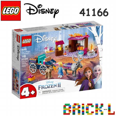 레고 41166 디즈니 겨울왕국2 엘사의 마차 모험 BR