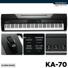 [히든특가] 영창 커즈와일 스테이지 피아노 KA70 KA-70 블랙