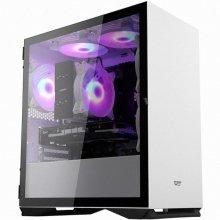 darkFlash DLM22 RGB 강화유리 화이트 미니타워