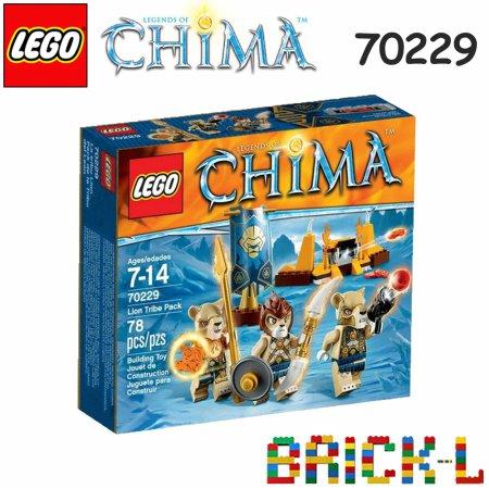 레고 70229 키마 사자 부족 팩