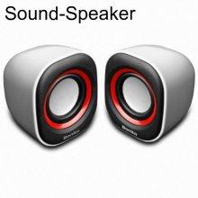 BONITA SP10 화이트 레드 사운드 스피커