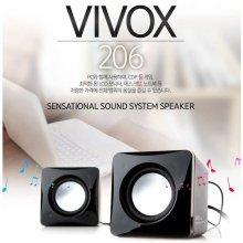 VIVOX 206 2채널 스피커