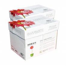 하이브라이트 A4 80g 2BOX 5000매/A4용지/복사지