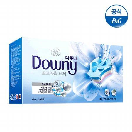 프리미엄 세탁세제 폼형 24개입 블루 [D137]