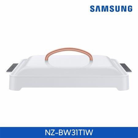 [상급 리퍼상품 단순변심] 1구 인덕션 더 플레이트 전용용기 NZ-BW31T1W [화이트]