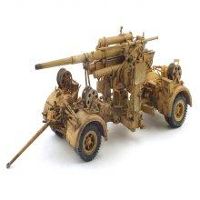 1/32 독일 1942년 제2차 세계대전 88mm 프랙크건 대공포