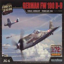 1/72 German FW 190D-9 1945년 제2차 세계대전 포케불프 전투기 조립킷