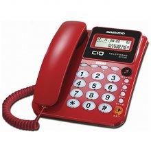 발신자표시 유선전화기 DT-7780 (레드)
