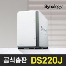 [다운로드쿠폰2%][공식총판]시놀로지 DS220J 2Bay NAS [케이스]