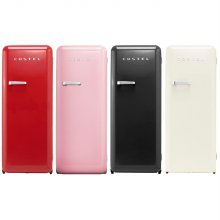 모던 레트로 냉장고 281L / CRS-281HAMB 메트 블랙